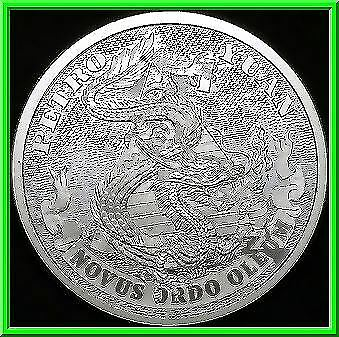 2019 1oz Petro Yuan BU Silver Shield MiniMintage Death of the Dollar