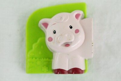 LeapFrog Fridge Farm Pig Front Magnetic Animal Head Left Replacement Piece