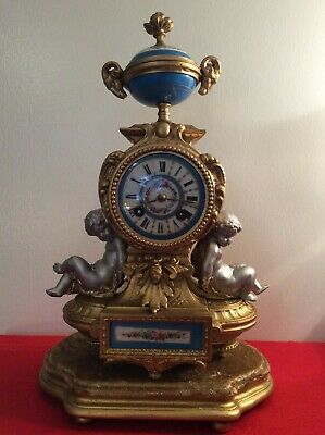 Japy Freres Antique Clock