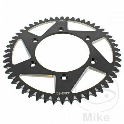 Husqvarna FE 350 2016 JMP Black Aluminium Rear Sprocket (52 Teeth)