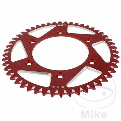 Honda XR 650 R 2001 JMP Red Aluminium Rear Sprocket (50 Teeth)