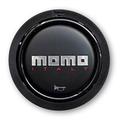Momo Tuner / Team Steering Wheel Replacement Horn Push Button In Black