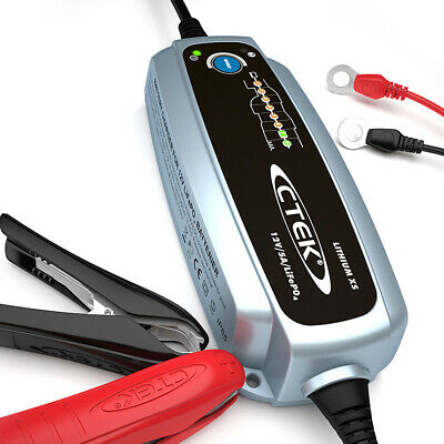 CTEK Car Care Lithium Ion XS LiFePO4 Battery Charger / Recharger