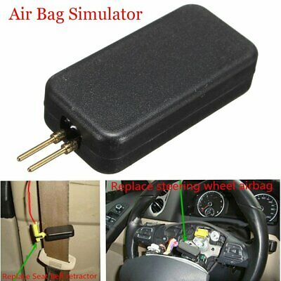Cars Airbag Simulator Vehicle Air Bag Emulator Bypass SRS Fault Finding Tool☼~♌