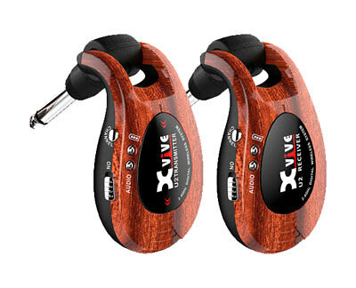 XVive Guitar Wireless System Wood