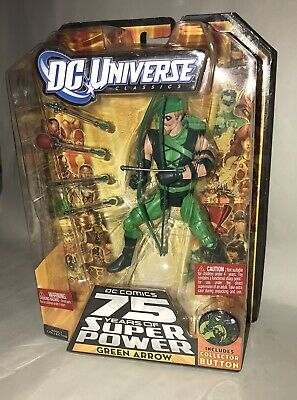 DC Universe Classics 75 Years of Super Power Green Arrow 2009 NEW *Fast Shipping