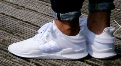more photos d0350 95a13 ADIDAS ORIGINALS EQT, Adv, All White U.k.8.5