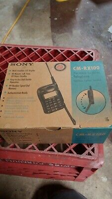 Sony Cm-rx100 Portable Cellular Telephone