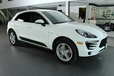 2017 Porsche Macan  2017 SUV Used Twin Turbo Premium Unleaded V-6 3.0 L/183 Automatic AWD Leather