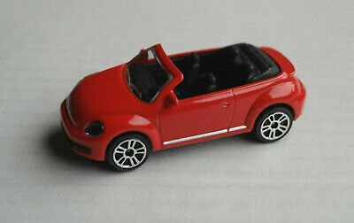 Majorette VW Volkswagen Beetle Cabrio rot Convertible Cabriolet red rosso rouge