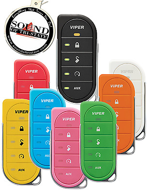 Viper 2 Way 7856V LED Replacement Remote w/ 7 Diff Colors Orange, Red, Green etc