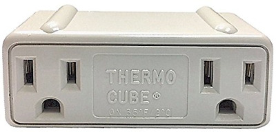 Thermo Cube TC-3 Thermostatically Controlled Outlet - On at 35, Off at 45