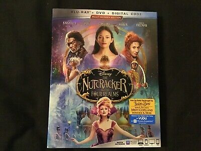 A20 The Nutcracker and the Four Realms (Blu-ray, DVD with sleeve no digital code