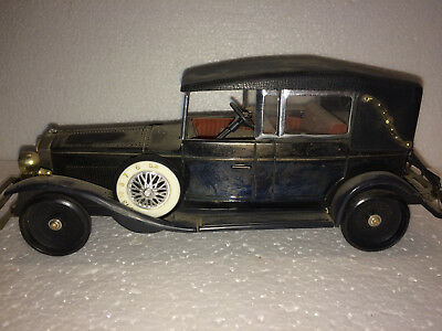 Transistor Radio in Model Car 1928 Lincoln Model L Convertible Ra (Amico, Japan)