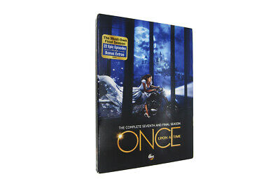 Once Upon a Time: Season 7 The Complete Seventh (5-Disc set) Brand New Free Ship
