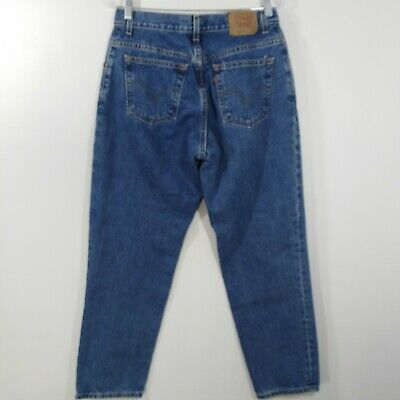 dce75cc1c46fad Vintage Levis Womens Jeans 550 High Rise Relaxed Fit Taper Leg Mom Size 12  Mis S