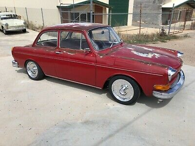 1970 Vw Type 3 Notchback Sedan 1600 Coupe Patina