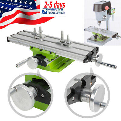 Multifunction Milling Machine Cross Sliding Table X Y-axis Vise For Lathe Drill