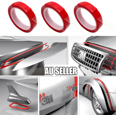 50M Double-sided Heat Resistant Adhesive Transparent Clear Acrylic Tape Car Home