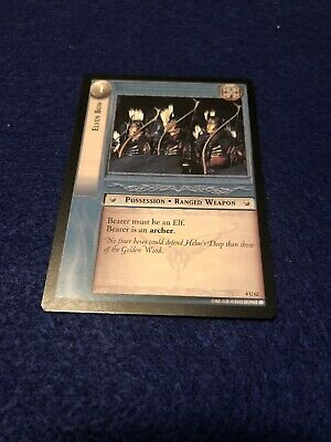 2002 Decipher Lord Of The Rings CCG Elven Bow X2