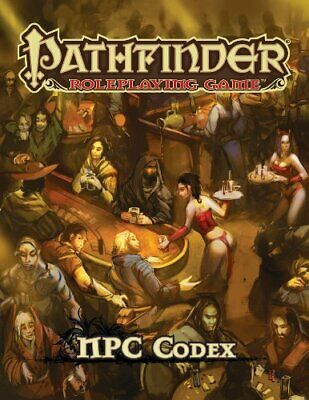 Pathfinder Roleplaying Game: NPC Codex by Bulmahn, Jason Book The Fast Free