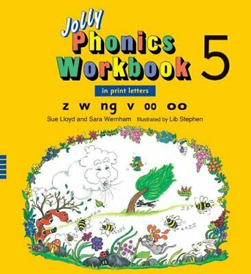 Jolly Phonics Workbook 5 by Wernham, Sara Book The Cheap Fast Free Post