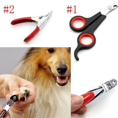 Pet Nail Claw Clippers Dog Cat Animal Rabbit Bird Trimmers Scissors Cutters Toe