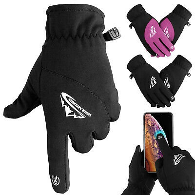 Men Women Winter Gloves Thermal Warm Windproof Waterproof Touch Screen Mittens