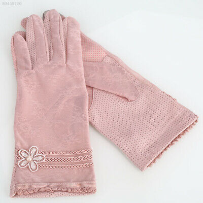 AA14 Touch Screen Glove Texting Glove Beautiful Lace 6 Colors Outdoor Tablet PC