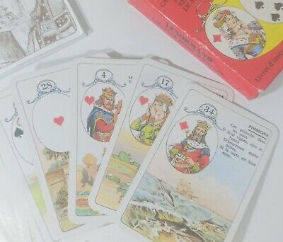 Jeu Mlle Lenormand Fortune Telling 36 Oracle Cards with Instructions