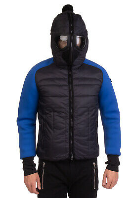 78523ac32 AI RIDERS ON THE STORM Puffer Goggle Jacket Size 50 L Primaloft Neoprene  Sleeves