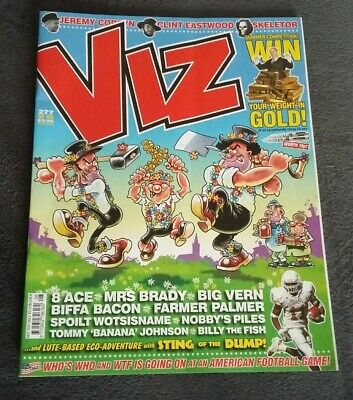 Viz Magazine Issue 277 - August 2018