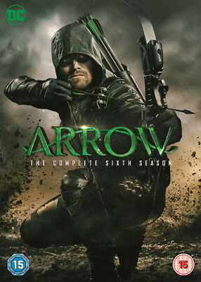 Arrow: The Complete Sixth Season DVD (2018) Stephen Amell ***NEW***