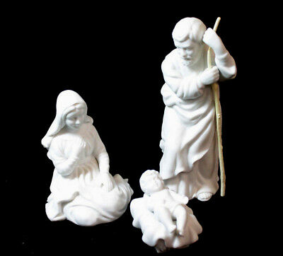 Vintage 1980s The Avon Nativity Collectibles Porcelain Figurines The Holy Family