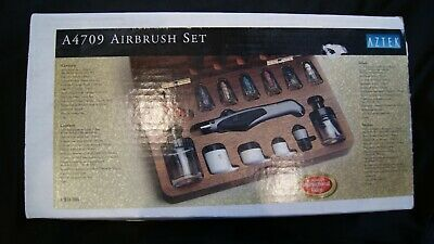 Aztec Airbrush set A4709 ( Airbrush A470) Very good condition