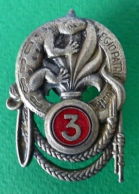 French Foreign Legion 3Rd Regiment Infantry France Drago Paris Copy ? ? Badge