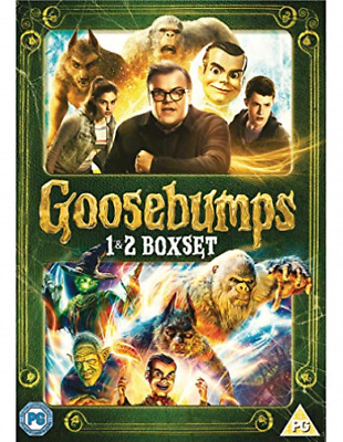Goosebumps 1&2 DVD NEW
