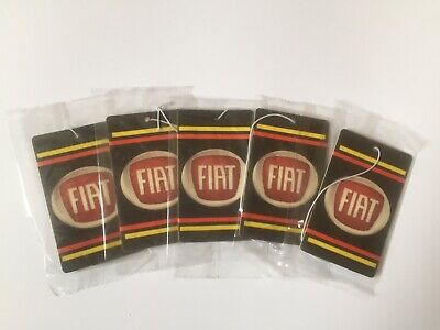 Fiat Car Logo Air Freshener Double Sided (DEAL!!!!! 5 for £10.00)