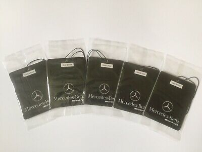 Mercedes-Benz AMG Car Logo Air Freshener Double Sided (DEAL!!!! 5 FOR £10.00)