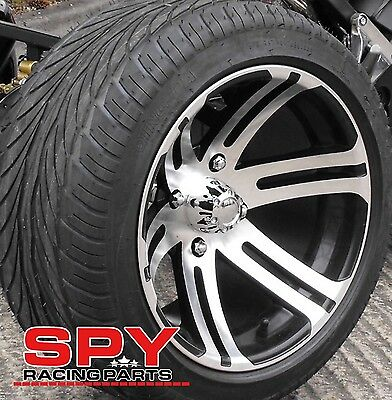 Spy 250/350F1 Front Alloy Wheel, Road Legal Quad Bike Rims, Spy Racing Parts