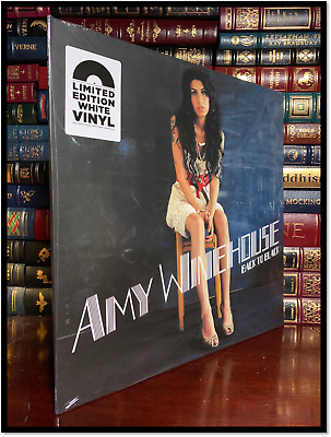 Amy Winehouse Back to Black New Sealed Limited Edition White LP Vinyl Album