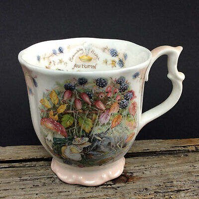 ROYAL DOULTON Brambly Hedge BECHER AUTUMN #2159-2160