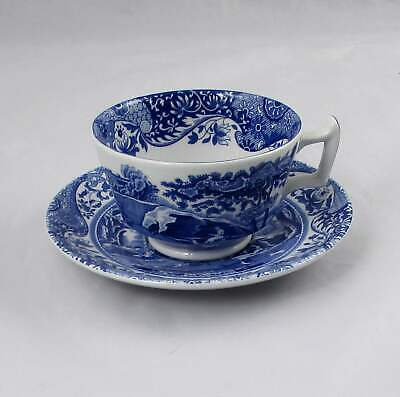 Spode Blue Italian Cup & Saucer England Multiple Available