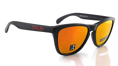 43386d9e72 Oakley FROGSKINS Sunglasses Black Ink with Prizm Ruby Iridium Lens 9013-C9