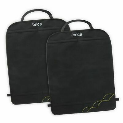 Munchkin BRICA Deluxe Car Seat Kick Mats Back Seat Protection Covers Pack of 2