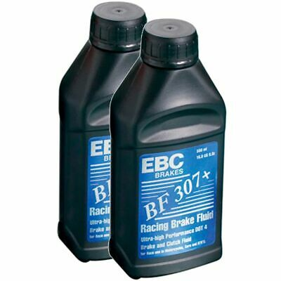 EBC Brakes Racing Brake Fluid - Motorcycle 2 x 500ml Glycol Based