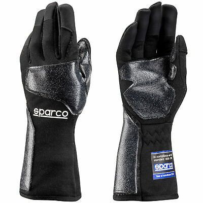 Sparco Meca RMG-7 FIA Approved Mechanics Pit Crew Paddock Gloves Black