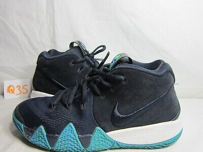 7b56d3c57d1d Youth Nike Kyrie 4 (GS) Basketball Shoes Dark Obsidian Blue AA2897-401 Size