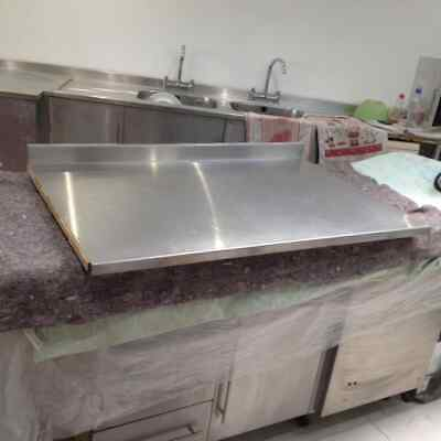 Commercial Stainless Steel Kitchen Worktop
