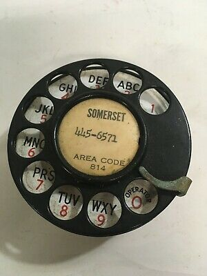 Vintage 1940s Northern Electric Co Telephone Dial  (M41)